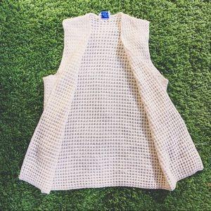 Vtg 50's Knitted Vest